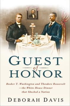 In 1901, President Theodore Roosevelt invited Booker T. Washington to have dinner with the First Family. The next morning, news that the president had dined with a black man—and former slave—sent shockwaves through the nation.  The scandal escalated and threatened to topple two of America's greatest men, but each knew that symbolic nature of the event would be of great importance.   The brave act by both men would threaten their careers, but help pave the way of the civil rights movement.
