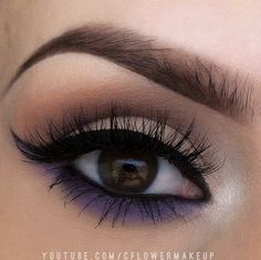Neutral with purple underneath