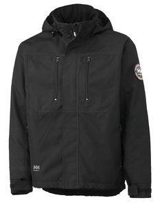 Helly Hansen 76201 Mens Workwear Full Zip Waterproof Berg Jacket Coat Size S-XXL Polyester, in body in sleeveLining: Work Jackets, Men's Coats And Jackets, Winter Jackets, Helly Hansen, Together Fashion, Mode Online, Polo T Shirts, Urban Outfits, Mens Clothing Styles