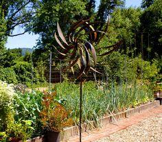 2014 BBY - raised veggie beds in Linda's garden
