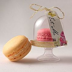 Miniature Macaroon Dome - unusual macaron boxes