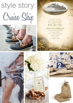 Style board inspiration: cruise ship - Advice and Ideas   Invitations By Dawn