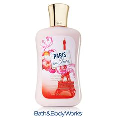 NEW Paris In Bloom Body Lotion — nourish your skin with blossoming pink peonies & pears glistening with dew! ♥ #LUVBBW