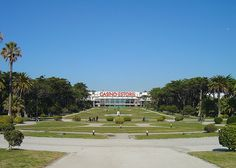 Casino Estoril in Portugal is the largest casino in Europe. Ate in the restaurant years ago overlooking a laser light show in the fountains. Estremadura, Las Azores, Lisbon, Places Ive Been, Golf Courses, Restaurants, Hotels, Santa, Spaces