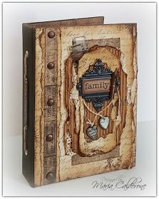 Maria Lina's Creative Designs: Vintage Mini Album... Family