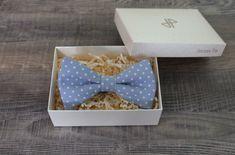 Light blue polka dot bow tie Polka Dot Bow Tie, Blue Polka Dots, Bow Ties, Light Blue, Bows, Unisex, Arches, Bowties, Bow