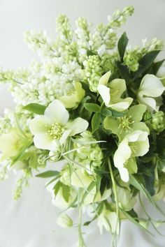 Image result for image of bouquet of Christmas roses