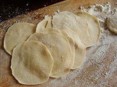 Super Simple Chinese Dumpling Dough  {I like these instructions as well: http://www.chow.com/recipes/28052-basic-dumpling-dough}