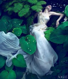 Rooney Mara photographed by Mert Alas & Marcus Piggott for Vogue
