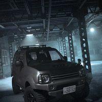 ジムニーシエラJB43ベースアピオジムニーコンプリートカーTS湘南エディション ※写真の車両は一部オプションパーツを装着しています。