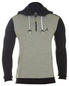 Jordan V Fleece Mens Hoodie Mens Hoodies & Sweats Grey Sz-xl