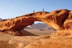 Burdah Bridge at Wadi Rum