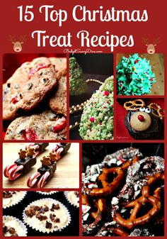 15 Top Christmas Treat Recipes - Pin Pin Pin