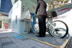 Japonya'dan Yeraltı Bisiklet Otoparkı