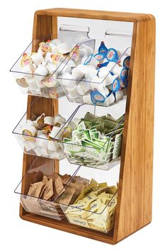 Item: 3569-6-60 Removable Compartment Condiment Organizers