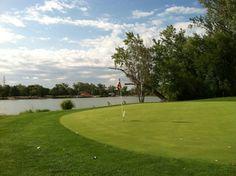 Shoreline Golf Course in Carter Lake, IA
