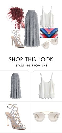"""""""Summer getaway"""" by valvybes on Polyvore featuring Chicwish, Schutz and Prada"""