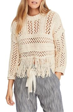 Brand: Free People Style: Sweaters Gender: Women's Color: Cream Sizing: USA Country: China Wash: Machine Wash Material: 80% Cotton, 20% Nylon     Tradesy is the leading used luxury fashion resale marketplace   100% AUTHENTIC, OR YOUR MONEY BACK   We have a zero-tolerance policy for replicas. Our authentication rate is best in the industry (Stronger than eBay, ThreadUp, The RealReal, Poshmark, Vestiaire, and Worthy), our smart technology automatically detects and removes fakes listed on our…