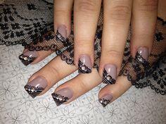 Laces by Viviannailart - Nail Art Gallery nailartgallery.nailsmag.com by Nails Magazine www.nailsmag.com #nailart