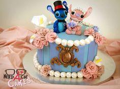 stitch disney wedding cake
