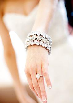 #aliprecious #bracelets #bridal #bling #jewelry