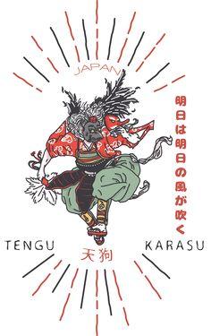 JAPAN KARASU 天狗