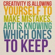 Insight about #Creativity.