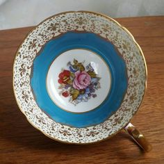 Aynsley bone china teacup orphan by ClutterBucks on Etsy