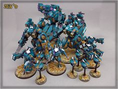 Scar_hand Painting - Tau Empire by Nazroth