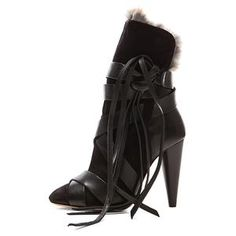 Isabel Marant | Calfskin Boots with Fur