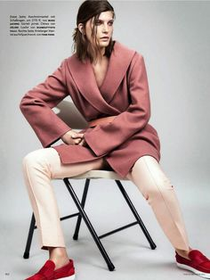 Sebastian Kim Captures Pink in Different Genres of Fashion in His Line trendhunter.com