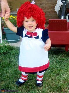 Raggedy Ann homemade costume - cute!