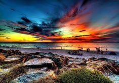 Henley Beach, South Australia. Gorgeous view.