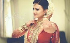 The traditional Indian bride..all set for her dream day