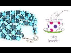 Simply Silky Bracelet | Take a Make Break | Beads Direct