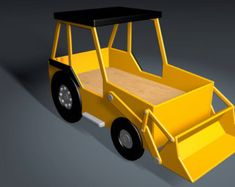 Front End Loader Twin Size lit menuiserie Plan par Plans4Wood