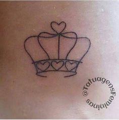 Resultado de imagem para tatuagem coroa