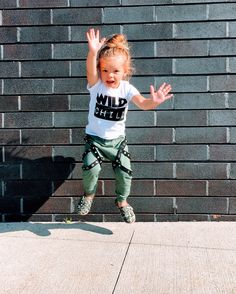 Wild Child Trendy Toddler 2 Piece Jogger Outfit – Silly Little Ditties