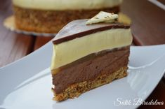 Hungarian Cake, Hungarian Recipes, Fun Desserts, Dessert Recipes, Mousse Cake, Cakes And More, International Recipes, Sweet Recipes, Food To Make
