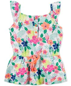 Carter's Toddler Girls' Tropical Floral Tunic