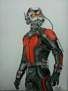 Antman drawing
