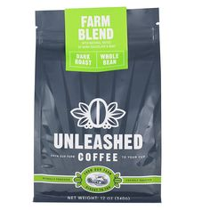 Unleashed Coffee - Farm Blend - Dark Roast Coffee Directly from the Farmer ** Tried it! Love it! Click the image. : Fresh Groceries