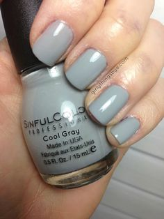 Sinful Colors Haute Rebel - Cool Gray
