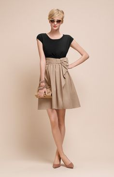 Extraordinary Spring / Summer 2014 Collection by Paule Ka. Make the skirt longer, and that is quite cute!