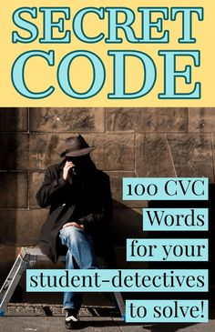 "100 ""Secret Code"" CVC words for your student detectives to solve! There are 200 PowerPoint slides - one with the secret code to solve followed by the revealed answer!"