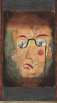 Paul Klee, Komische Alte (Weird Old Ones), Watercolour, pen & ink on paper. Acrylic Painting Lessons, Oil Painting Abstract, Abstract Art, Painting Art, Watercolor Painting, Pen And Watercolor, Watercolor Artists, Henri Matisse, Kandinsky