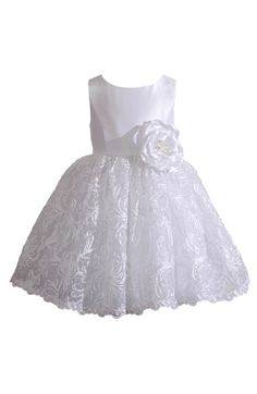 Kleinfeld Pink Kleinfeld Pink 'Tara' Sleeveless Lace Dress (Baby Girls) available at Toddler Girl Dresses, Little Girl Dresses, Girls Dresses, Flower Girl Dresses, Fashion Kids, Little Girl Fashion, Embroidery Dress, Nordstrom Dresses, Kind Mode