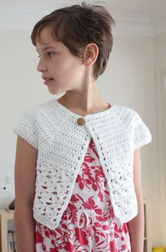 Ravelry: Bebop / Urban Girl Cropped Cardi by Lion Brand Yarn
