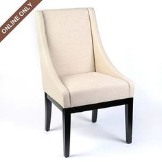 linen houston chair from Kirklands $199.97 - would be great around a dining table