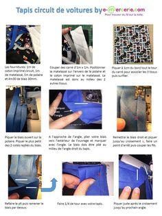tapis de jeu Coucou, Dès que j'ai vu ce tissu j'ai pensé à faire un tapis de jeu pour enfants. Dans ce tuto, je vous explique comment poser du biais dans un angle proprement. J'espère que vous apprécierez. A bientôt. Viny Tissus et biais ici http://www.e-mercerie.com La...